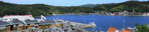 海士町の港